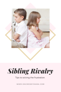 Sibling Rivalry Pinterest