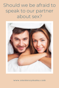 Talking about sex in marriage