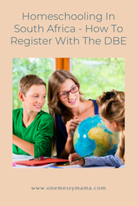 Homeschooling In South Africa - How To Register With The DBE