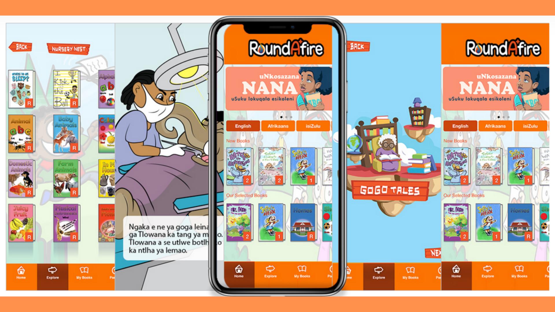 Roundafire Reading App