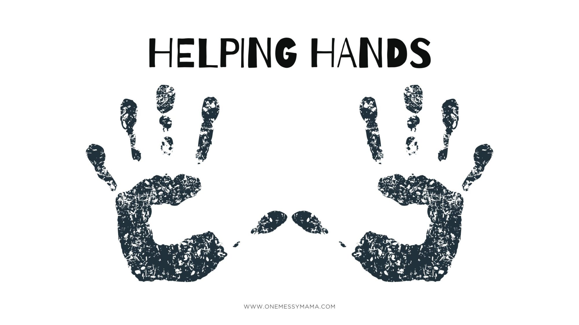 Helping Hands Free Biblical Printable and Lesson