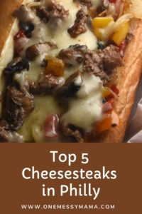 Top 5 Cheesesteaks in Philly
